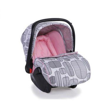 sarah pink car seat