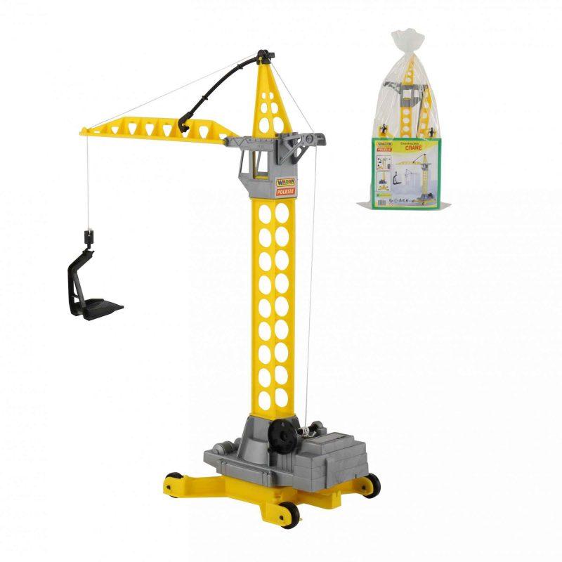 ΓΕΡΑΝΟΣ – POLESIE TOYS CONSTRUCTION CRANE 56429
