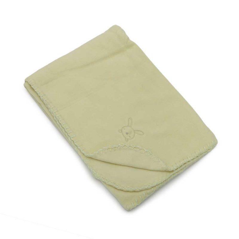 ΒΡΕΦΙΚΟ ΚΟΥΒΕΡΤΑΚΙ – CANGAROO Baby Blanket Silky Green