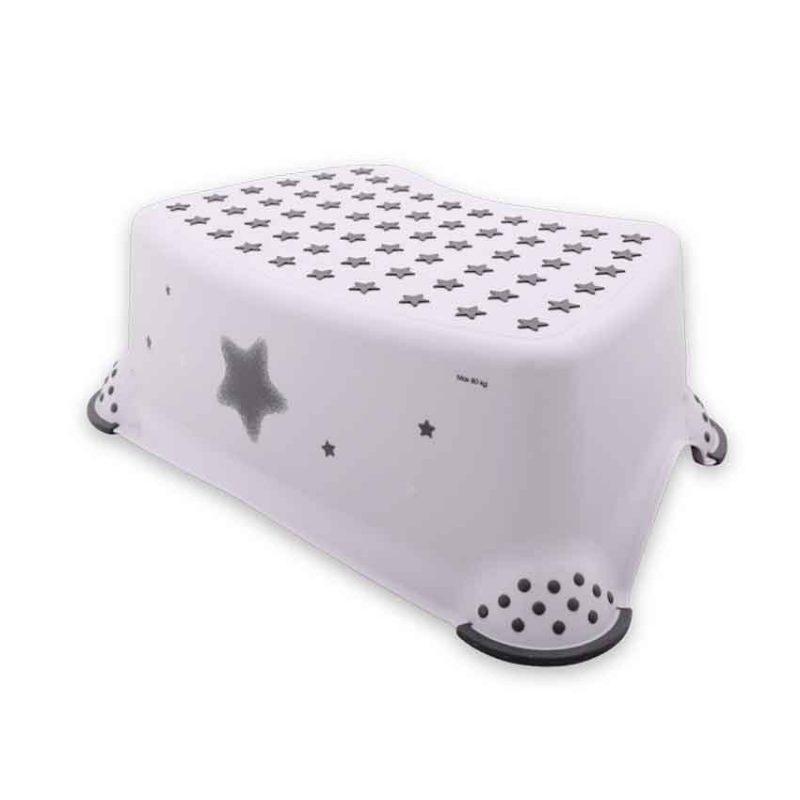 ΒΟΗΘΗΤΙΚΟ ΣΚΑΛΑΚΙ ΜΠΑΝΙΟΥ – LORELLI STEP STOOL STARS WHITE