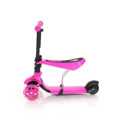 Τρίτροχο Πατίνι με κάθισμα - Lorelli Scooter SMART Pink 2021