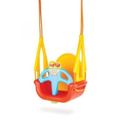 Παιδική Κούνια Με Σχοινία - Pilsan DoReMi Red 06118