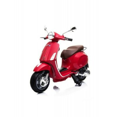 Παιδική Ηλεκτρική Μηχανή Baby Adventure Licensed Piaggio Vespa Primavera Red