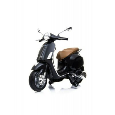 Baby Adventure - Παιδική Ηλεκτρική Μηχανή Baby Adventure Licensed Piaggio Vespa Primavera Black