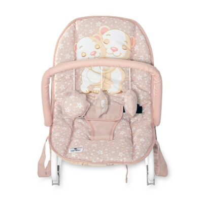 Βρεφικό Ρηλαξ - Lorelli Baby Rocker ROCK STAR Cameo Rose BEARS