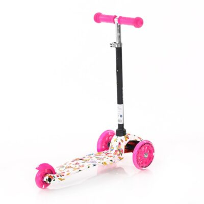 Lorelli Scooter MINI LED Pink BUTTERFLY 2021