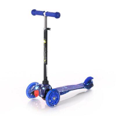 Τρίτροχο Παιδικό Πατίνι - Lorelli Scooter MINI LED Blue COSMOS 2021