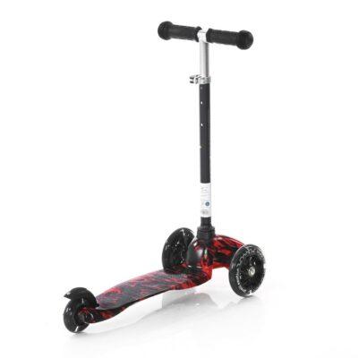 Τρίτροχο Παιδικό Πατίνι - Lorelli Scooter MINI LED Red FIRE 2021