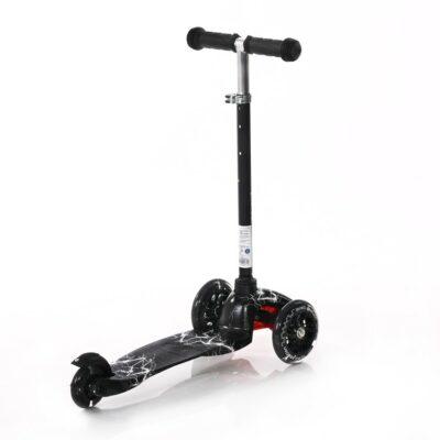 Lorelli Scooter MINI LED Black FLASH 2021