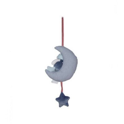 MANON DE PRES Παιχνίδι Plush Blue Bear Moon 30cm