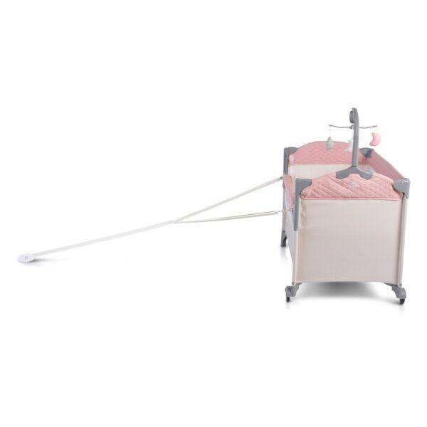 Παρκοκρέβατο 2 Επιπέδών – Cangaroo Indiana Pink