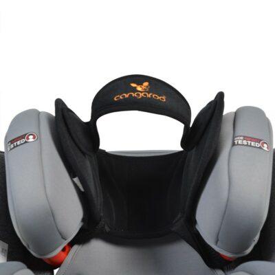 Προστατευτικό κάλυμμα κεφαλιού - Cangaroo Ergonomic head pad Shelter Black