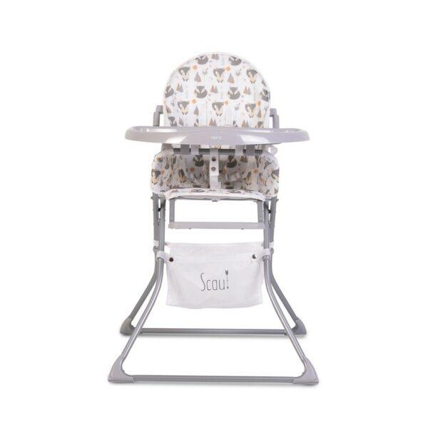 Καρεκλάκι Φαγητού - Cangaroo Baby High chair Scaut grey