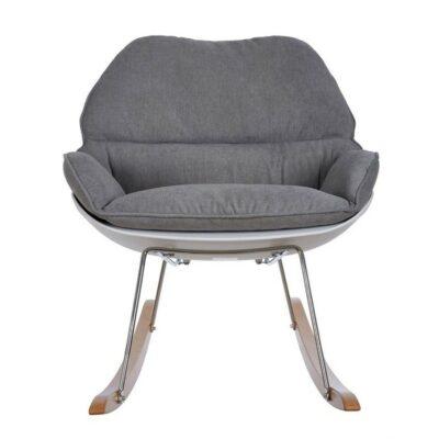 Κουνιστή καρέκλα θηλασμού - Baby Adventure Grey BR73555