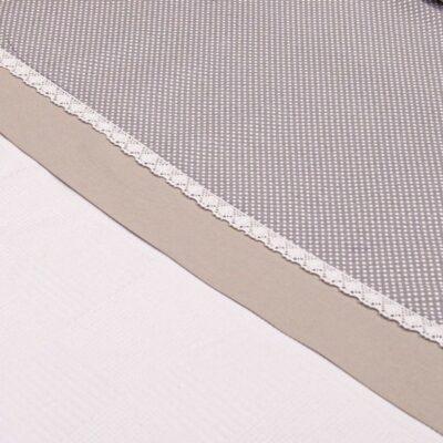 Πικέ κουβέρτα 100x150 - ABO Royal