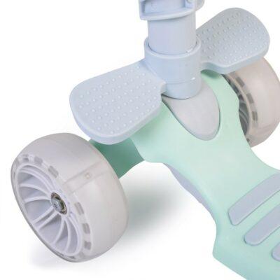 Παιδικό Πατίνι με κάθισμα - MONI Scooter Bubblegum Green