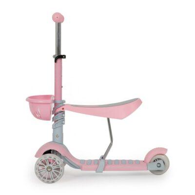 Παιδικό Πατίνι με κάθισμα - MONI Scooter Bubblegum Pink