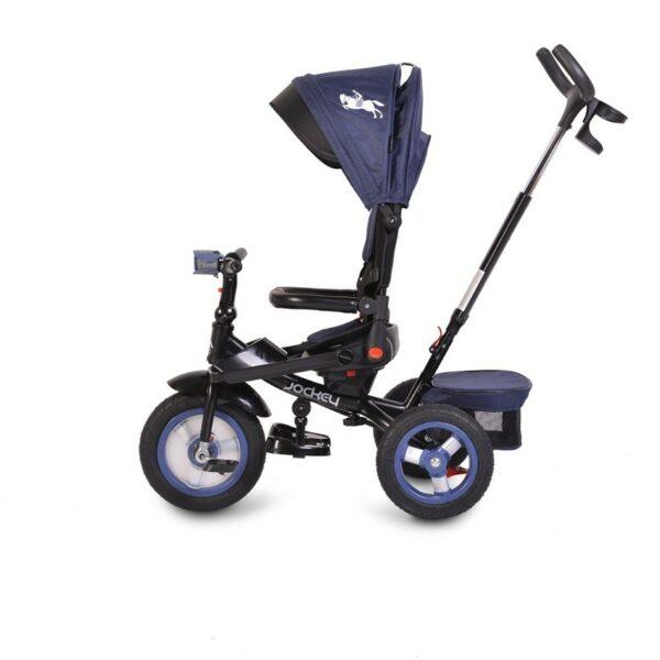 Τρίκυκλο Ποδήλατο με Μουσική & Air Wheels - ΒΥΟΧ Jockey dark blue 2021