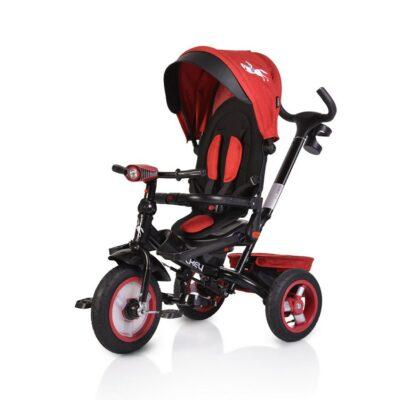 Τρίκυκλο Ποδήλατο με Μουσική & Air Wheels - ΒΥΟΧ Jockey dark red 2021