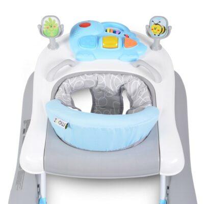 Βρεφική Περπατούρα-Στράτα - Cangaroo Baby walker Walker Ramble 2in1 Blue