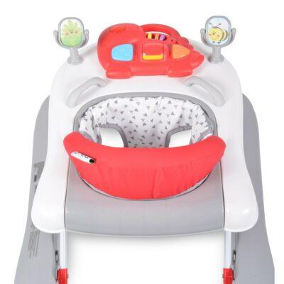 Βρεφική Περπατούρα-Στράτα - Cangaroo Baby walker Walker Ramble 2in1 Red