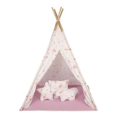 Παιδική Σκηνή - Baby Adventure Teepee Flamingo