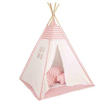 Παιδική Σκηνή - Baby Adventure Teepee Pink Wave