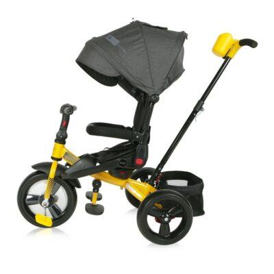 Τρίκυκλο ποδήλατο - Lorelli Tricycle Jaguar Black&Yellow Eva wheels