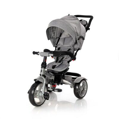 Τρίκλυκλο Ποδηλατάκι – Lorelli Tricycle NEO Eva wheels Grey LUXE