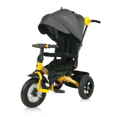 Τρίκυκλο Ποδήλατο - Lorelli Tricycle JAGUAR /Air Wheels/ Black&Yellow