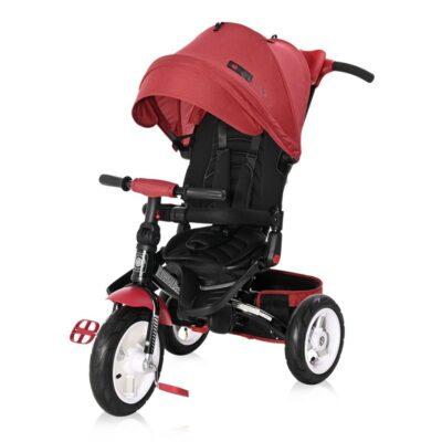 Τρίκυκλο Ποδήλατο - Lorelli Tricycle JAGUAR /Air Wheels/ Red&Black LUXE