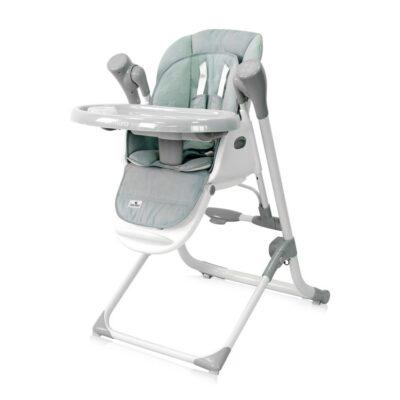 Καρεκλάκι Φαγητού μετατρεπόμενο σε κούνια/ρηλάξ - Lorelli High Chair VENTURA Frosty Green STARS