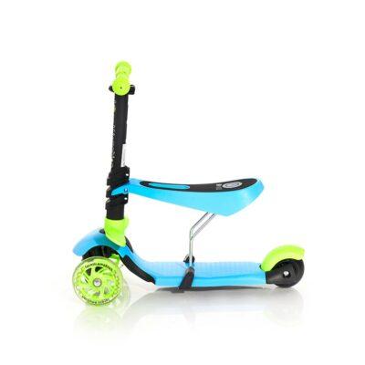 Τρίτροχο Πατίνι με κάθισμα - Lorelli Scooter SMART Blue&Green 2021