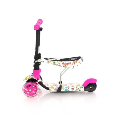 Lorelli Scooter SMART Pink BUTTERFLY 2021