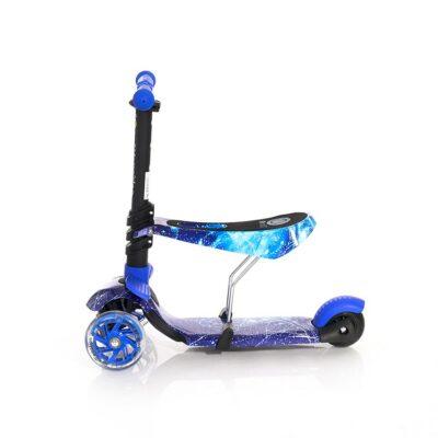 Τρίτροχο Πατίνι με κάθισμα - Lorelli Scooter SMART Blue COSMOS 2021