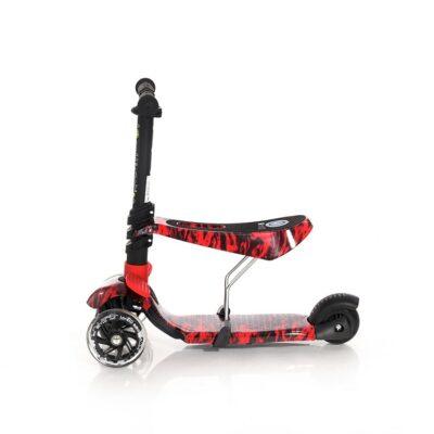 Τρίτροχο Πατίνι με κάθισμα - Lorelli Scooter SMART Red FIRE 2021