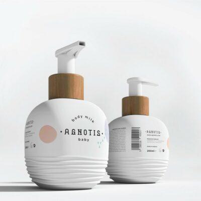 Agnotis Baby Body Milk – Βρεφικό Γαλάκτωμα Σώματος 200ml