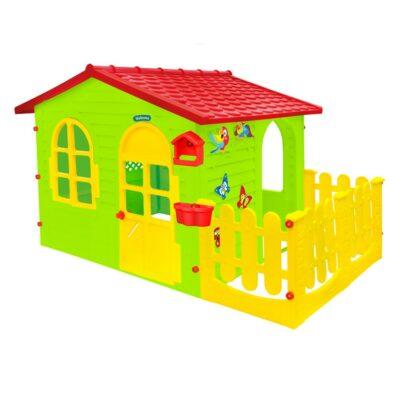 Σπιτάκι Κήπου με φράχτη - Mochtoys Big garden house with fence Mochtoys 12243