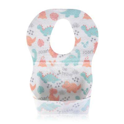 Βρεφικές αδιάβροχες Σαλιάρες μιας χρήσης 20τμχ. - Cangaroo Disposable baby bib Spotty