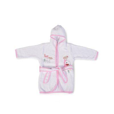 Μπουρνούζι - Cangaroo Hooded Hug me Pink