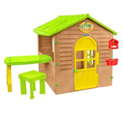 Σπιτάκι Κήπου - Mochtoys Garden house with table 12240