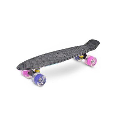 BYOX Skateboard 22`` GRAFFITI LED pink