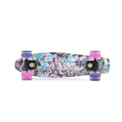 BYOX Skateboard 22`` GRAFFITI LED