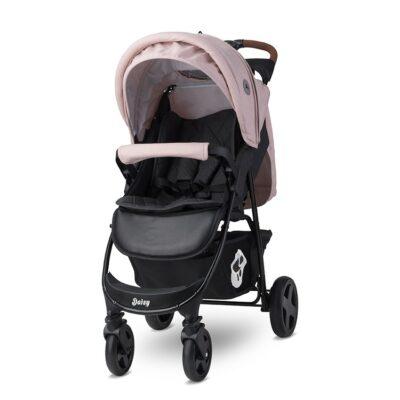 Παιδικό Καρότσι 2 σε 1 - Lorelli DAISY SET Black&Cameo ROSE