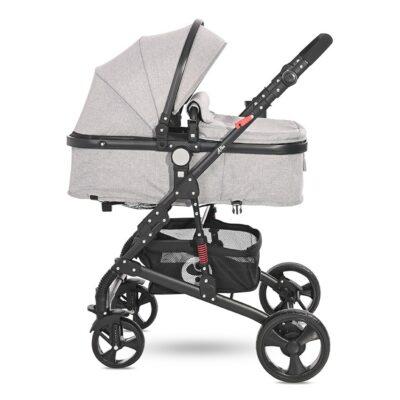 Μετατρεπόμενο καρότσι 3 σε 1 - Lorelli stroller ALBA Classic Set GREY