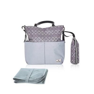 Τσάντα Αλλαξιέρα – Lorelli Mama Bag LAURA Grey