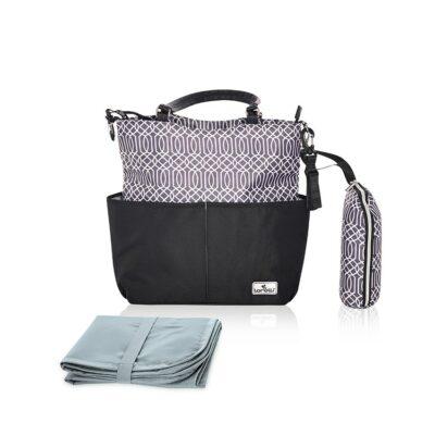 Τσάντα Αλλαξιέρα – Lorelli Mama Bag LAURA Black