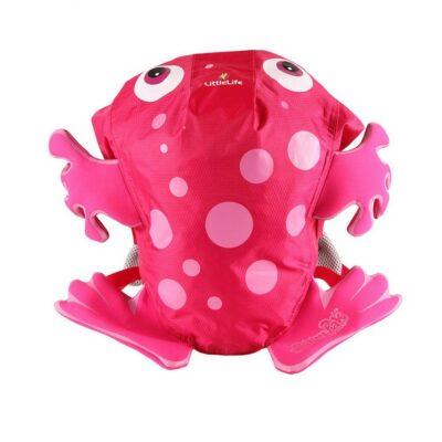 Littlelife - Σακίδιο 10Lt Αδιάβροχο Pink Frog