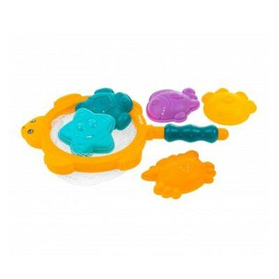 Σετ Απόχη Ψαρέματος με Παιχνίδια Μπάνιου - Akuku Bath toys & Fishing net