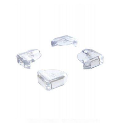 DreamBaby Προστατευτικά γωνιών ρολό για γυάλινο τραπέζι & ράφι 4τμχ